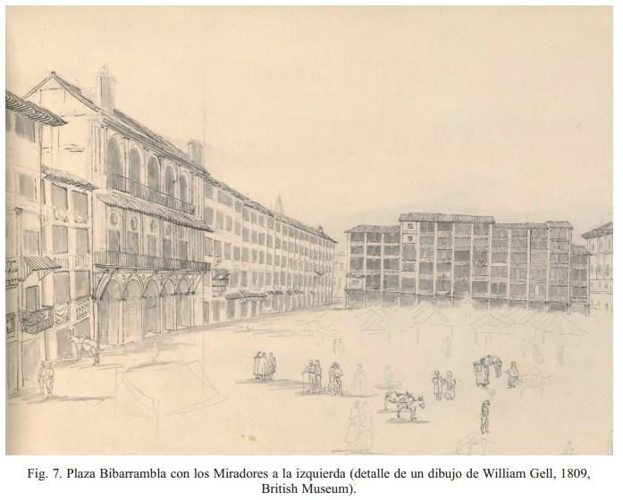Casa de los Miradores en Plaza de Bib Rambla
