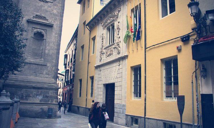 Colegio Niñas Nobles calle Carcel Baja Granada