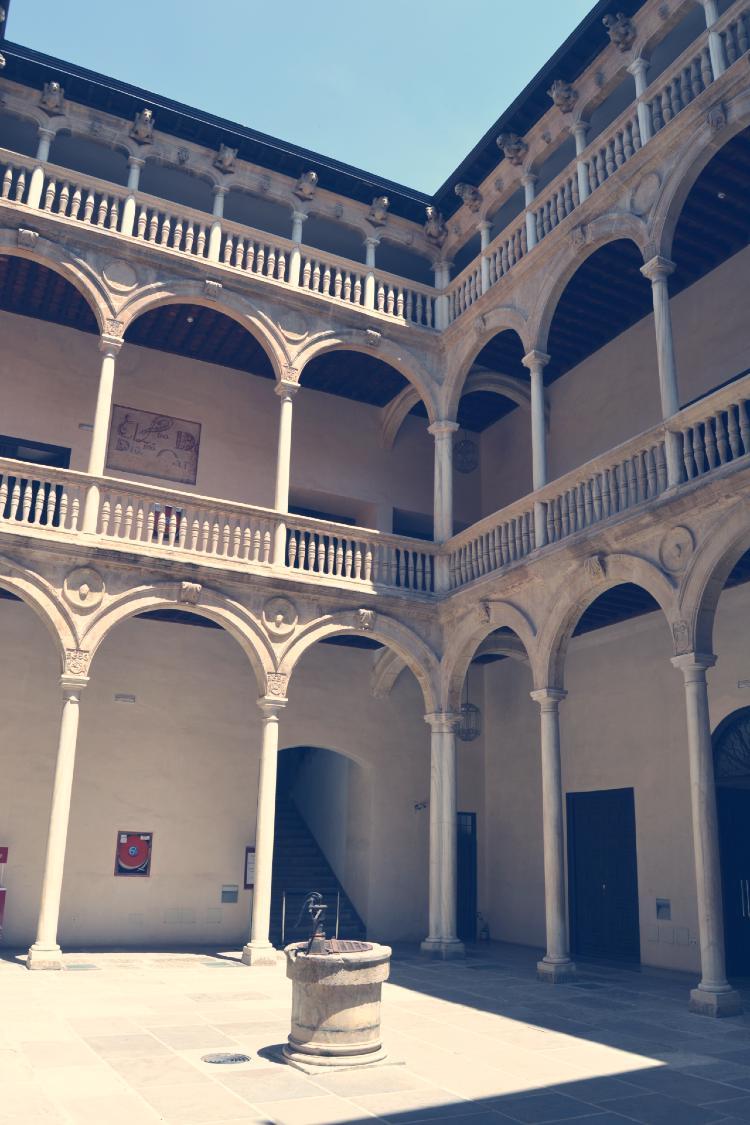 El Colegio Imperial Curia de Granada. Patio interior