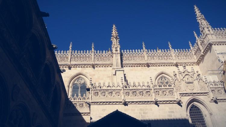 Fachada exterior de la Capilla Real de Granada