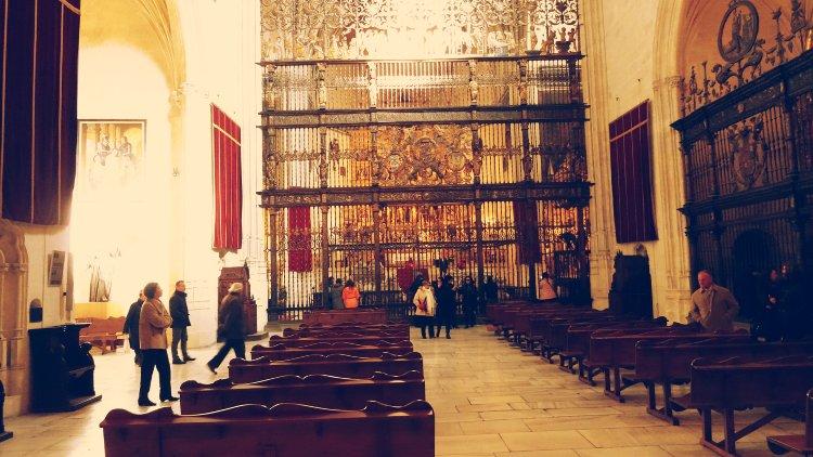 El interior de la Capilla Real